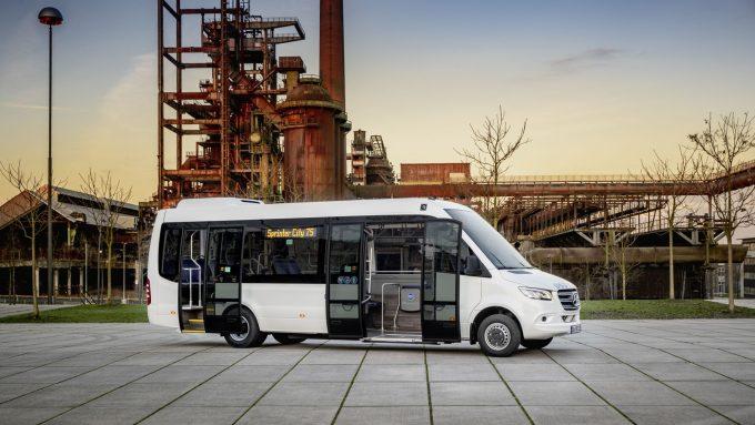 Mercedes Sprinter City 75 Ist 171 Minibus Of The Year 2019